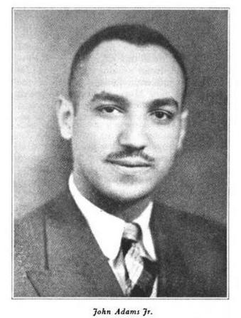John Adams, Jr. (1906-1999) of North Omaha was a member of the Nebraska Legislature from 1935–1941.