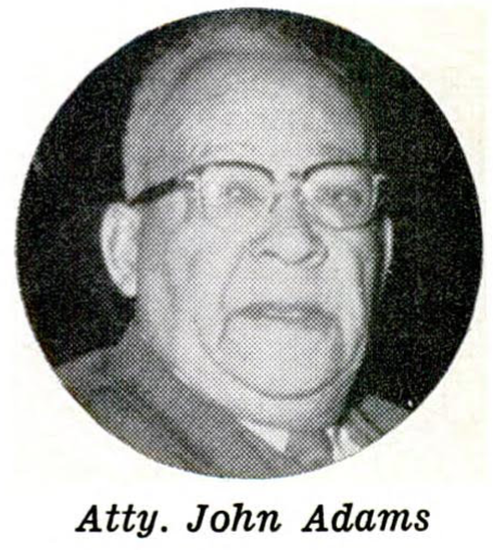 John Adams, Sr. (1876-1962) of North Omaha served in the Nebraska Legislature from 1949–1962.
