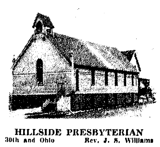 Hillside Presbyterian Church, North 30th and Ohio Streets, North Omaha, Nebraska