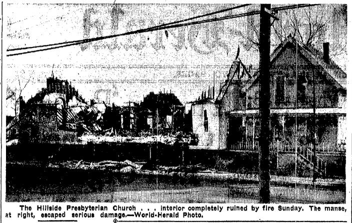 Hillside Presbyterian Church and Manse, North 30th and Ohio Streets, North OMaha, Nebraska