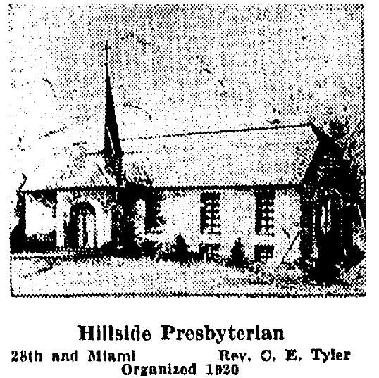 Hillside Presbyterian Church, N. 28th and Miami Streets, North Omaha, Nebraska