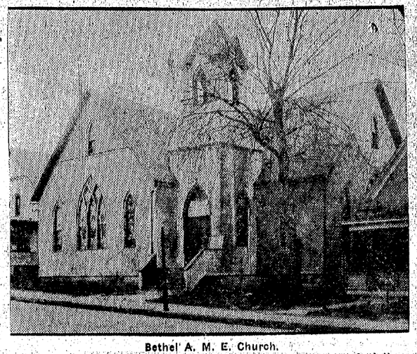 This is a 1925 pic of Bethel A.M.E. Church at N. 25th and Franklin Streets in North Omaha, Nebraska.