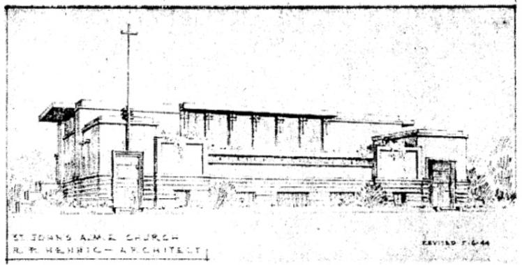 St John's AME Church, N. 22nd and Willis Streets, North Omaha, Nebraska