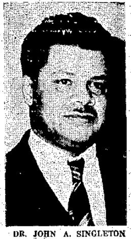 Dr. John A. Singleton, DDS