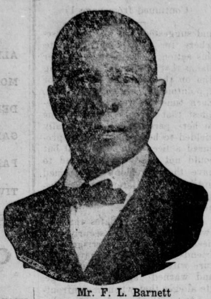 Ferdinand L. Barnett (1854-1932), North Omaha, Nebraska
