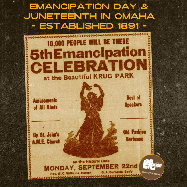 Omaha Emancipation Day, established in 1891