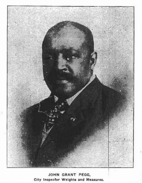 This is John Grant Pegg (1868-1916) of North Omaha, Nebraska.