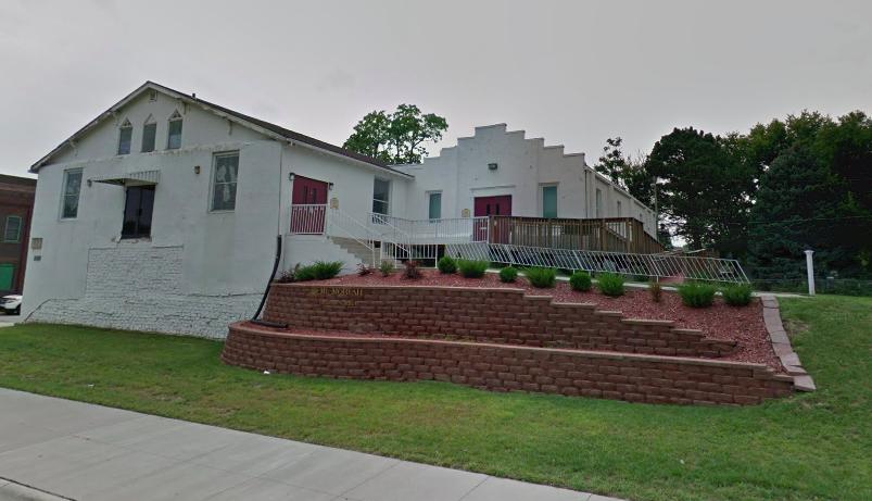 Mount Moriah Baptist Church, N. 24th and Ohio Streets, North Omaha, Nebraska.
