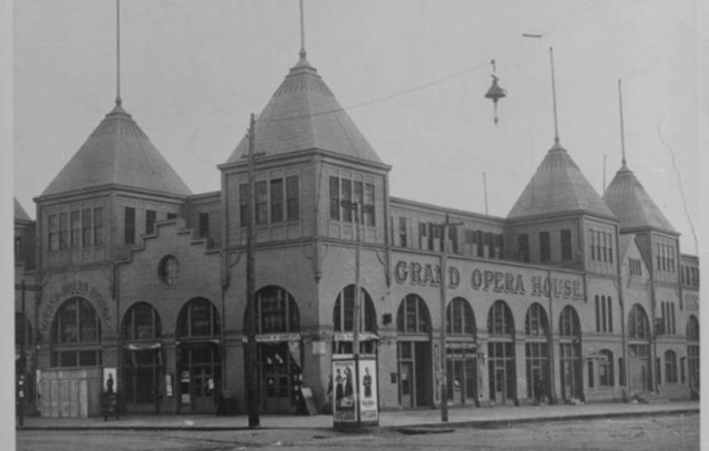 Omaha's Exposition Hall, N. 15th and Capitol Ave