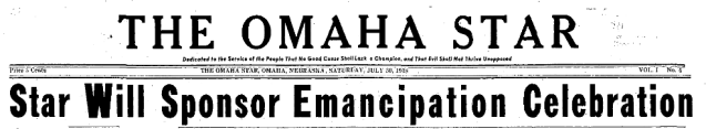 On July 30, 1938 Emancipation Celebration in Omaha