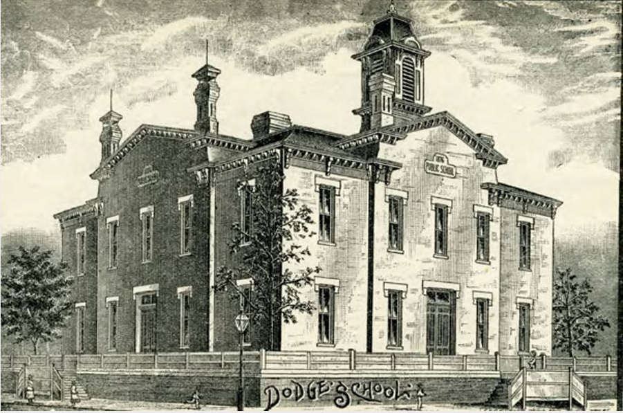 Dodge School, North 11th and Dodge Streets, Omaha, Nebraska