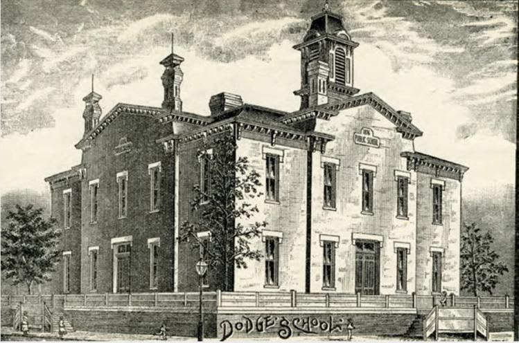 Dodge School, North 11th and Dodge Streets, Omaha, Nebraska
