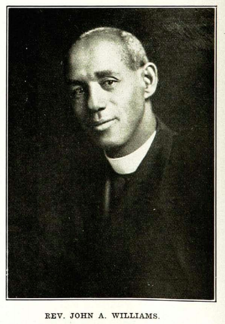 Rev. John Albert Williams (February 28, 1866 – February 4, 1933)