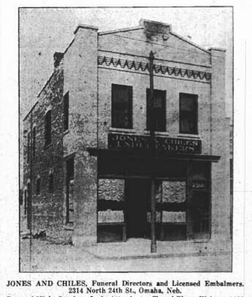 A. Jensen Building, 2314 North 24th Street, North Omaha, Nebraska