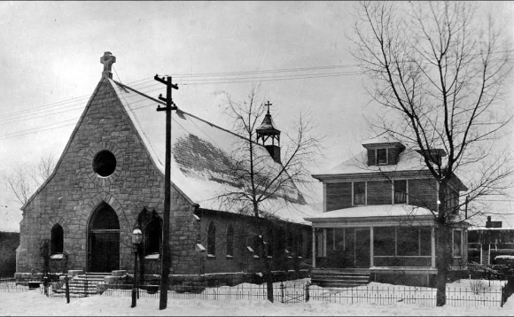 St Philip Episcopal parish rectory and church, 1119 North 21st Street, North Omaha, Nebraska