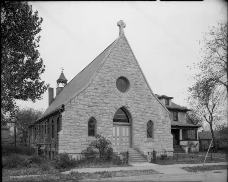 St Philip Episcopal Church, North 21st Street, North Omaha, Nebraska