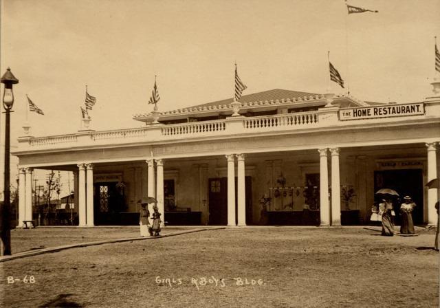 Girls and Boys Building, Trans-Mississippi and International Exposition, North Omaha, Nebraska