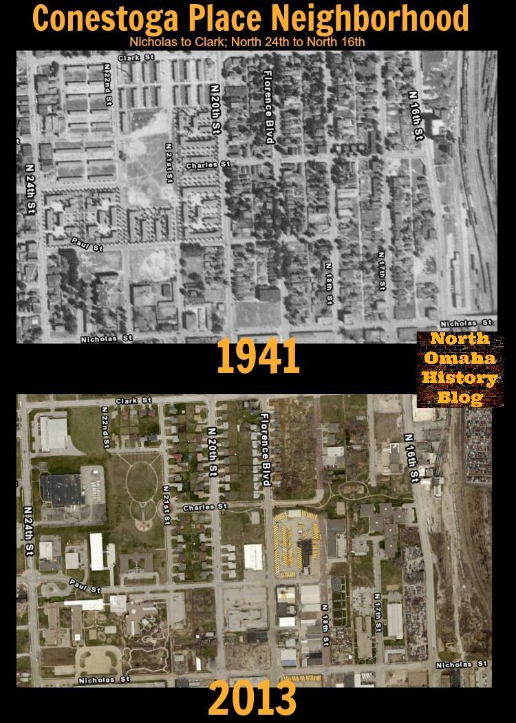 Conestoga Place neighborhood, N. 16th and Grace Streets, North Omaha, Nebraska