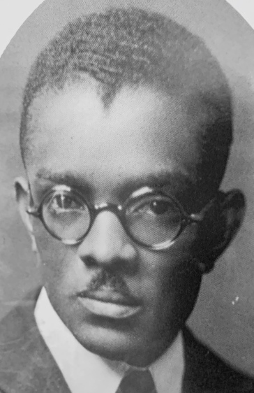This is Dr. Aaron Manasses McMillan (1895-1980), a noted missionary doctor, Omaha politician and African American community leader.