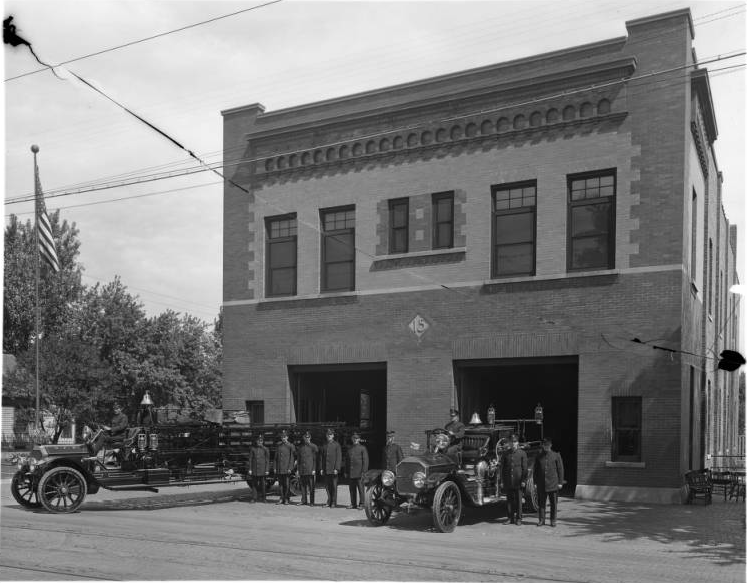 Omaha Fire Department Station #15, N. 22nd and Ames Avenue, North Omaha, Nebraska