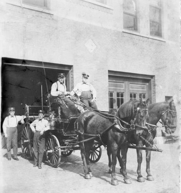 Saratoga Fire Station #15, N. 22nd and Ames Ave, North Omaha, Nebraska