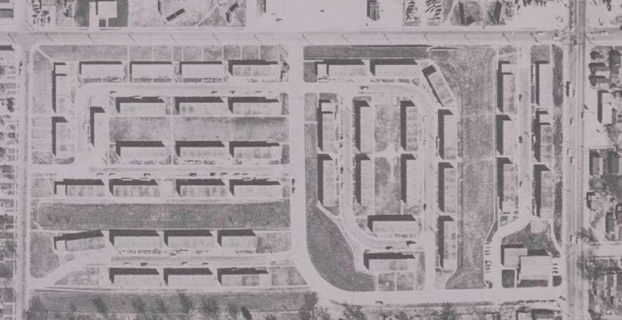 Hilltop Homes, North 30th and Lake Streets, North Omaha, Nebraska