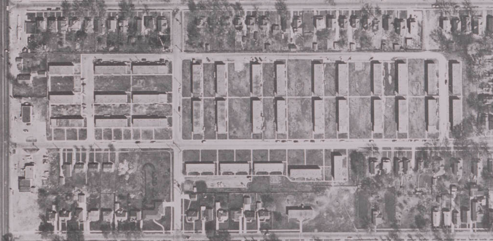 Spencer Public Housing Projects, North 30th and Spencer Streets, North Omaha, Nebraska