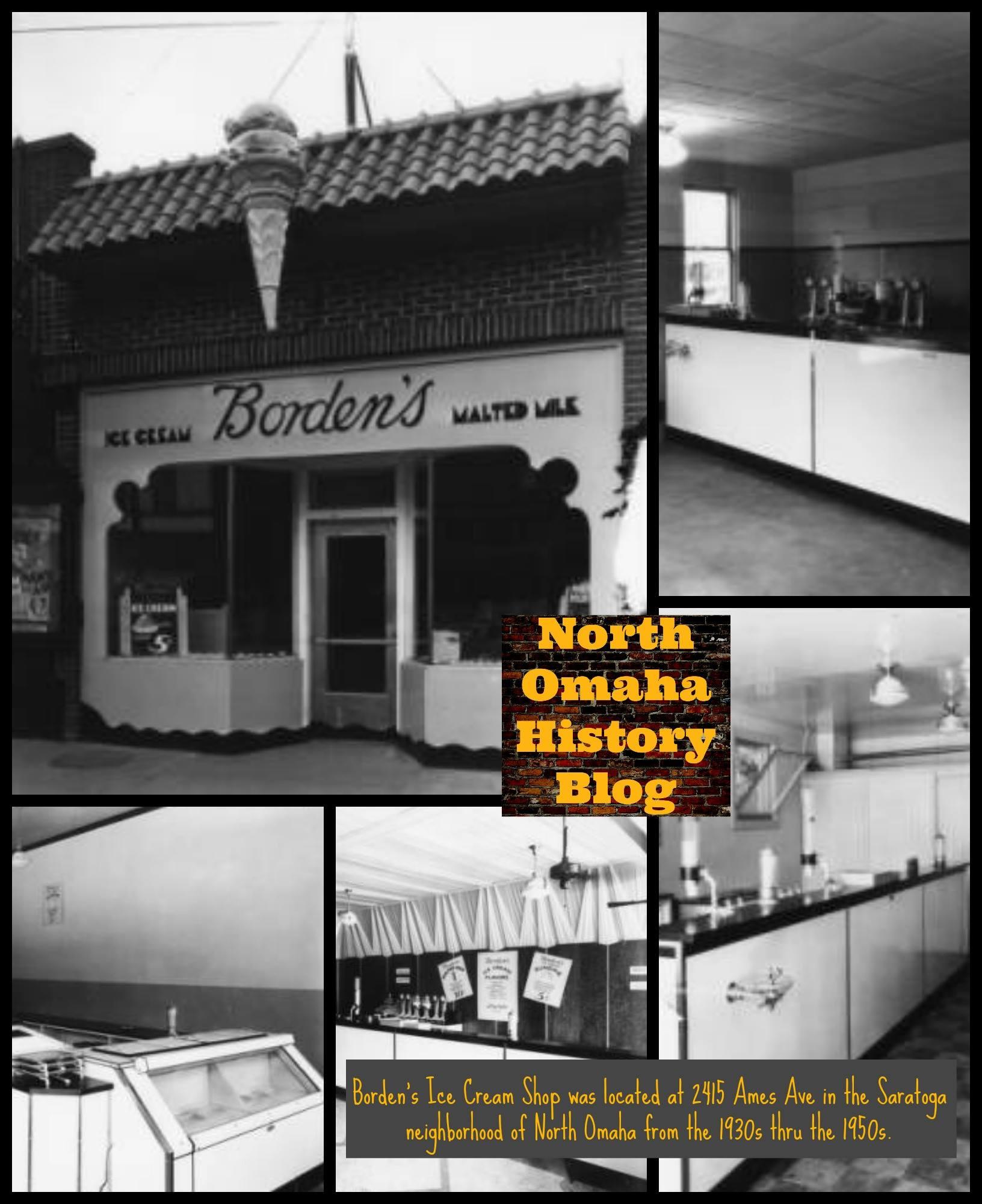 Borden's Ice Cream, 2415 Ames Avenue, North Omaha, Nebraska