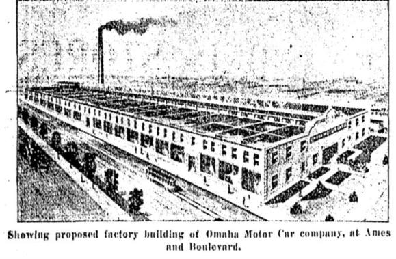 Omaha Motor Car Company, 2411 Florence Boulevard, North Omaha, Nebraska
