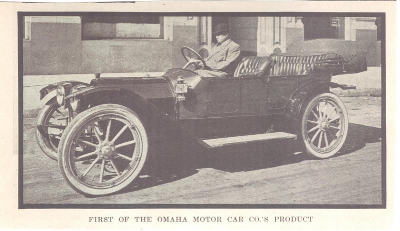 A History of the Omaha Motor Car Company in NorthOmaha