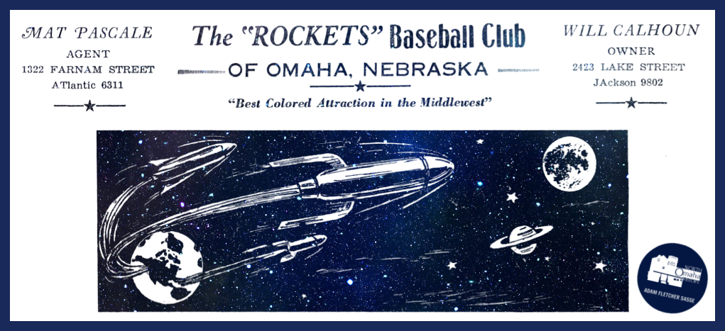 Omaha Rockets, 2423 Lake Street, North Omaha, Nebraska