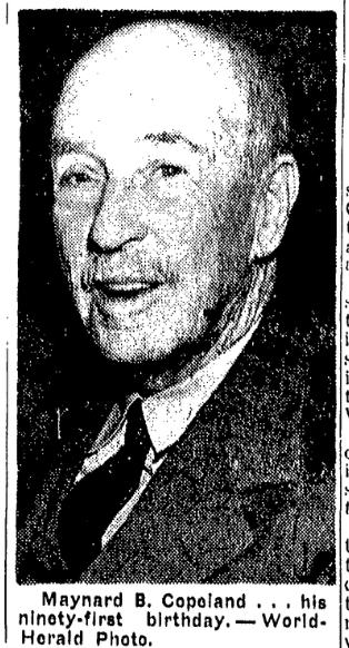 Maynard Bassett Copeland (1855-1953)