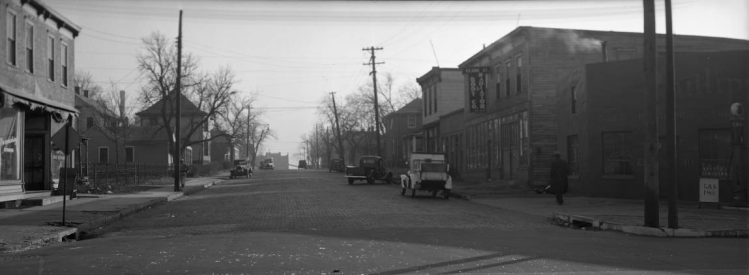 Italian neighborhood, N. 20th and Clark Streets, North Omaha, Nebraska