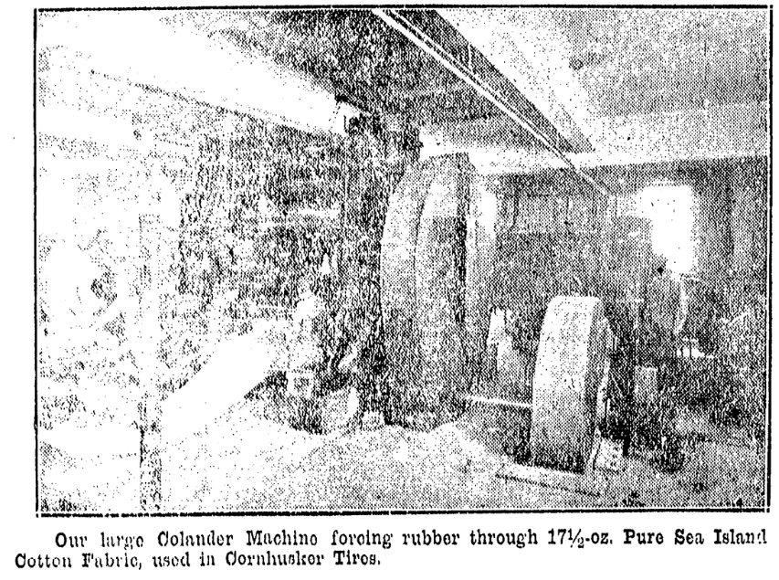 Nebraska Tires and Rubber Company factory, 3167 Spaulding Street, North Omaha, Nebraska