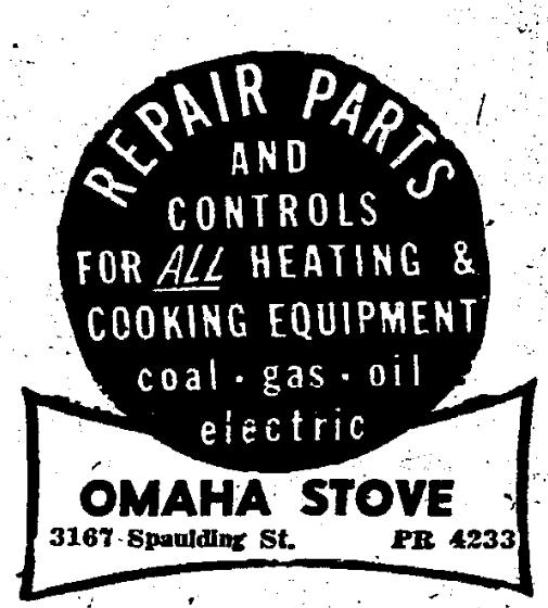Omaha Stove Company, 3167 Spaulding Street, North Omaha, Nebraska