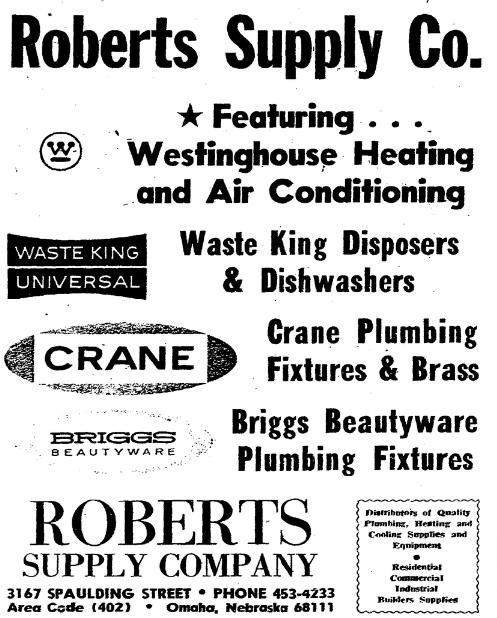Robert Supply Company, 3167 Spaulding Street, North Omaha, Nebraska