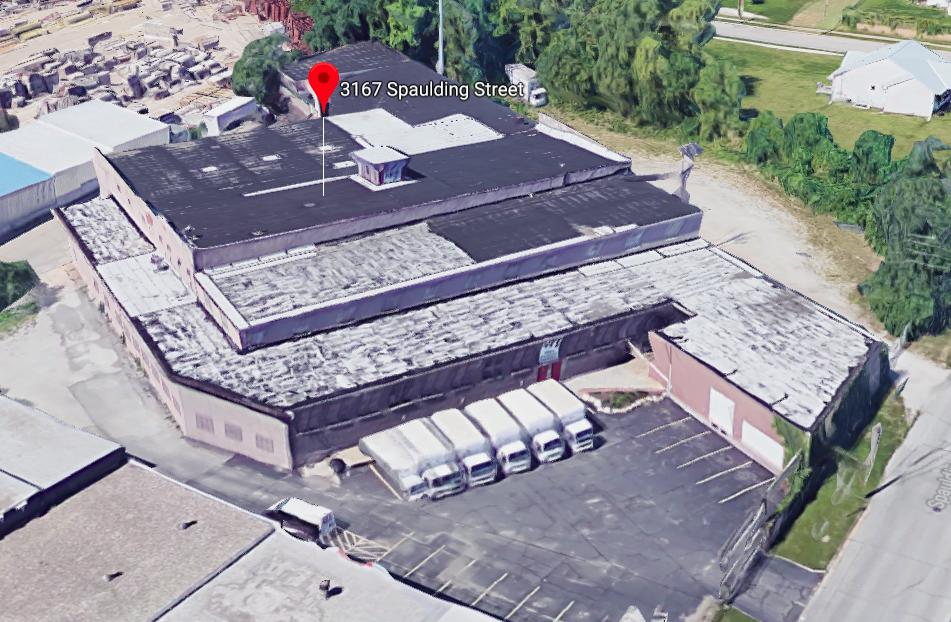 OFI USA warehouse, 3167 Spaulding Street, North Omaha, Nebraska