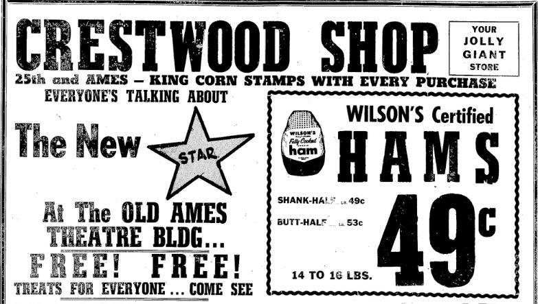 Crestwood Shop, North 25th and Ames Avenue, North Omaha, Nebraska