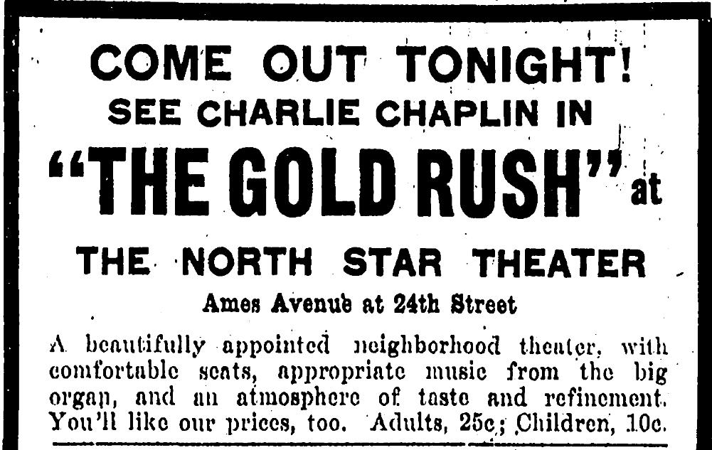 North Star Theater, North Omaha, Nebraska