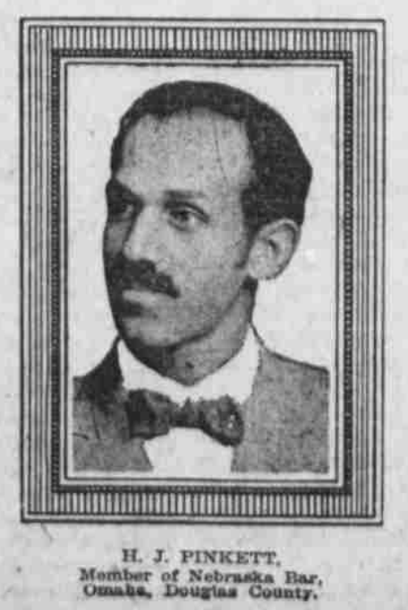 Harrison J. Pinkett (1882-1960), North Omaha, Nebraska