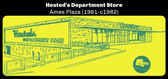 Hested's Department Store, Ames Plaza, North Omaha, Nebraska