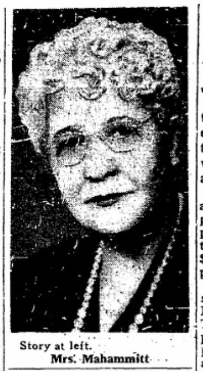 Sarah Helen B. Toliver Mahammitt (1869-1956), North Omaha, Nebraska