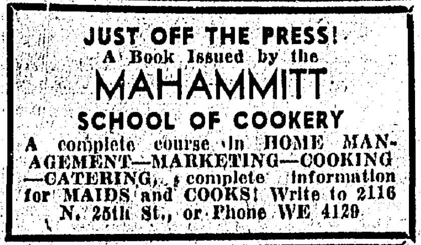 Muhammitt, H. B. T. (1939)