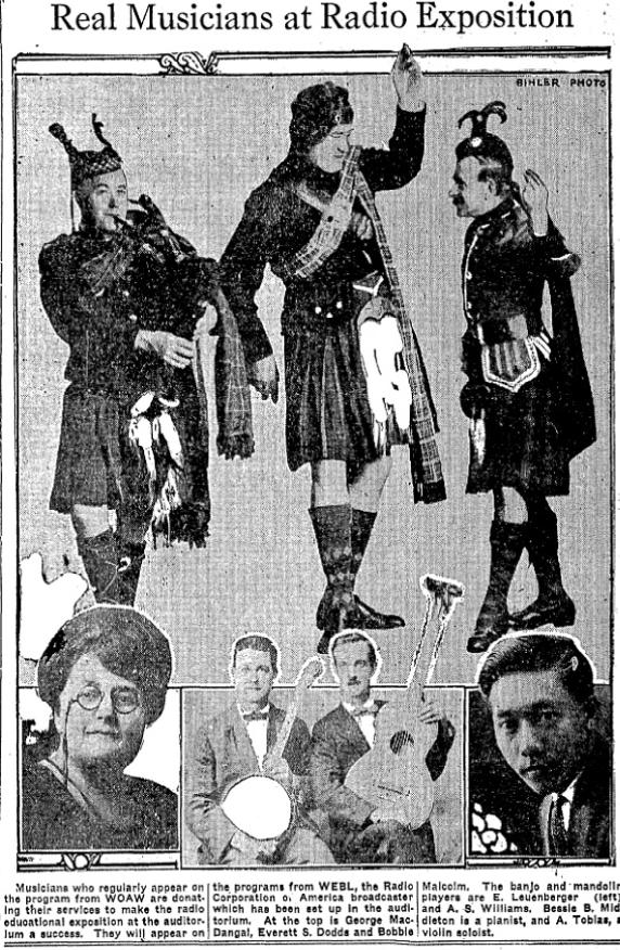 Everett S. Dodds, Omaha Scotsman