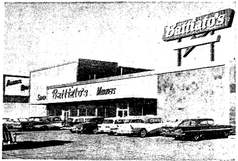 Battiato's Super Market, Ames Plaza, North Omaha, Nebraska