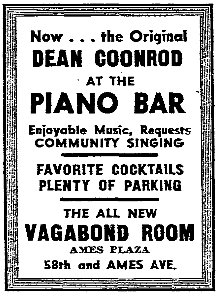 Vagabond Room, Ames Plaza, North Omaha, Nebraska