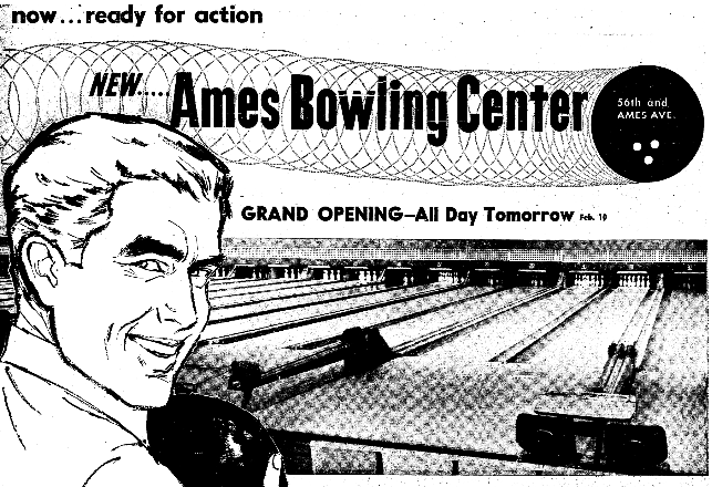 Ames Bowling Center, North Omaha, Nebraska