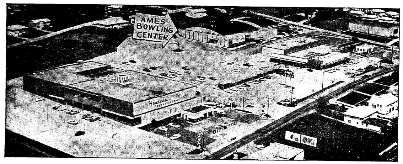 Ames Plaza, North 56th and Ames Avenue, North Omaha, Nebraska