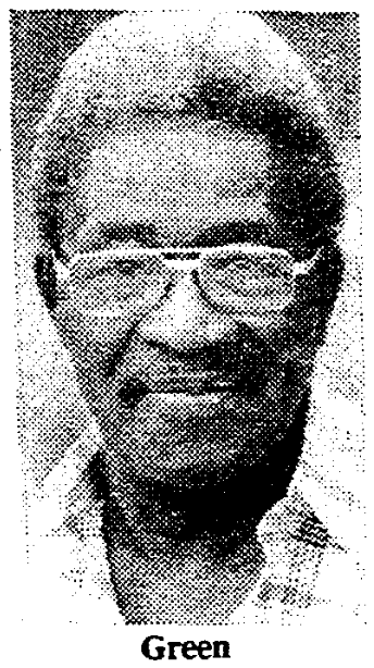 Marcellus Green, Sr. (1917-1993)