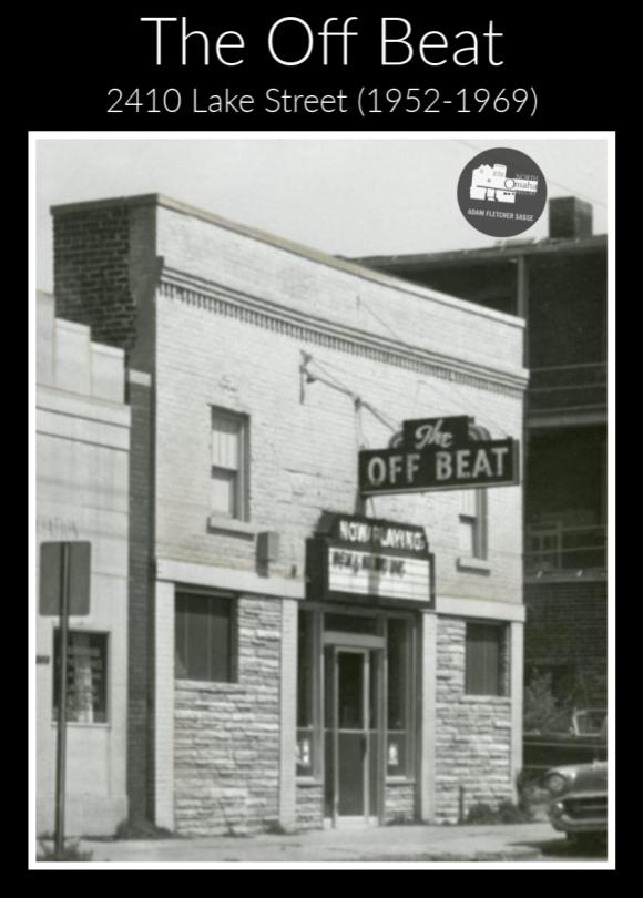 The Off Beat Club, 2410 Lake Street, North Omaha, Nebraska
